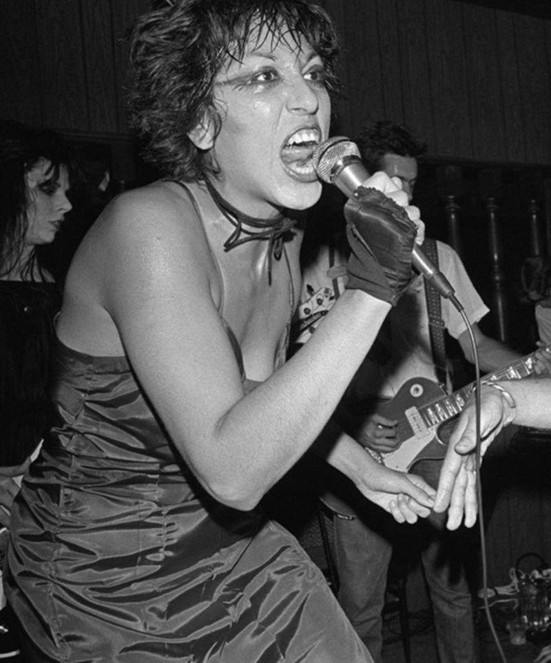 Badass Punk women of the 70s and 80s: Alice Bag