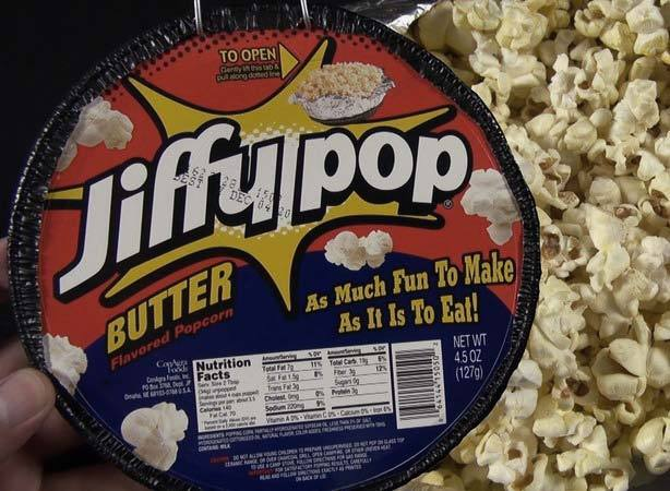 Jiffypop is a Great Summer Camping Treat