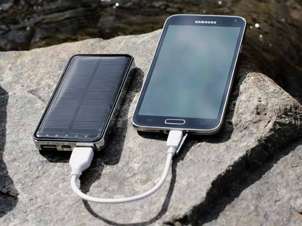Portable Phone Charger for Camping and Travelling