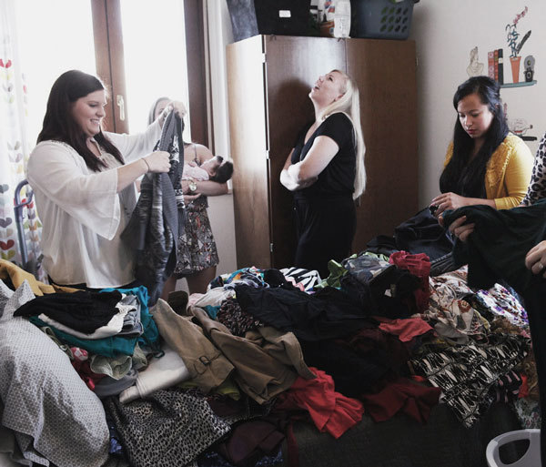 Transition from Summer to Fall Fashion: Have a Swap Party