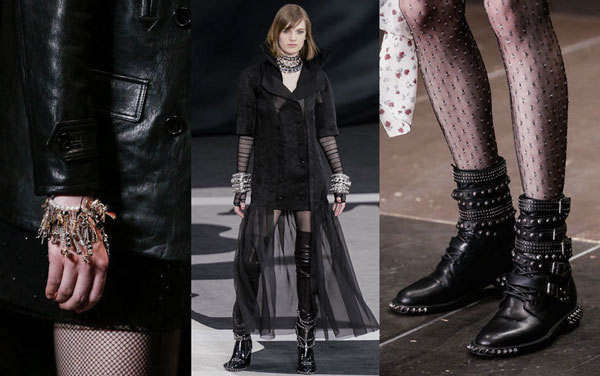 Punk and gothic fashion & accessories
