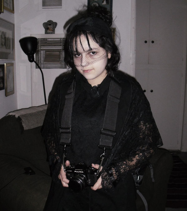 Gothic cosplay for Halloween