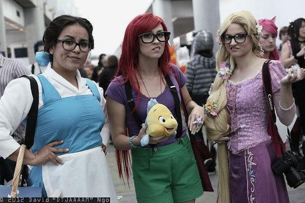 Disney Hipsters Halloween Costumes