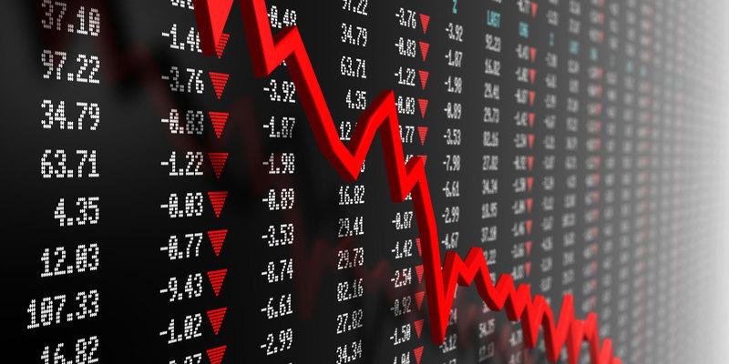 Stock market crash on Friday 13th 1987