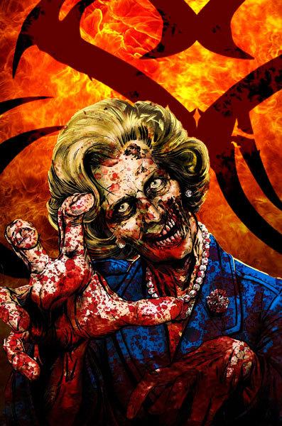 Margaret Thatcher Born on Friday 13th
