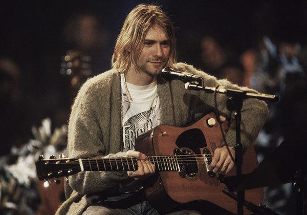 Kurt Cobain Grunge cardigan