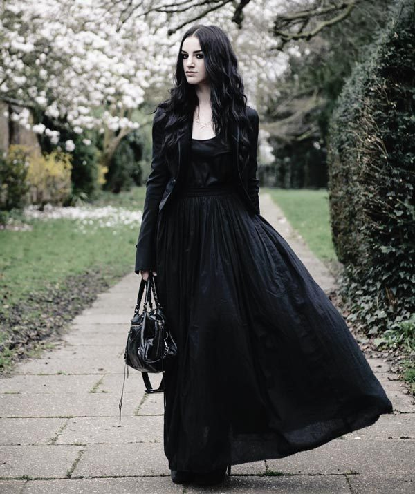 Gothic Christmas Party: A Gothic Gown for Formal Events