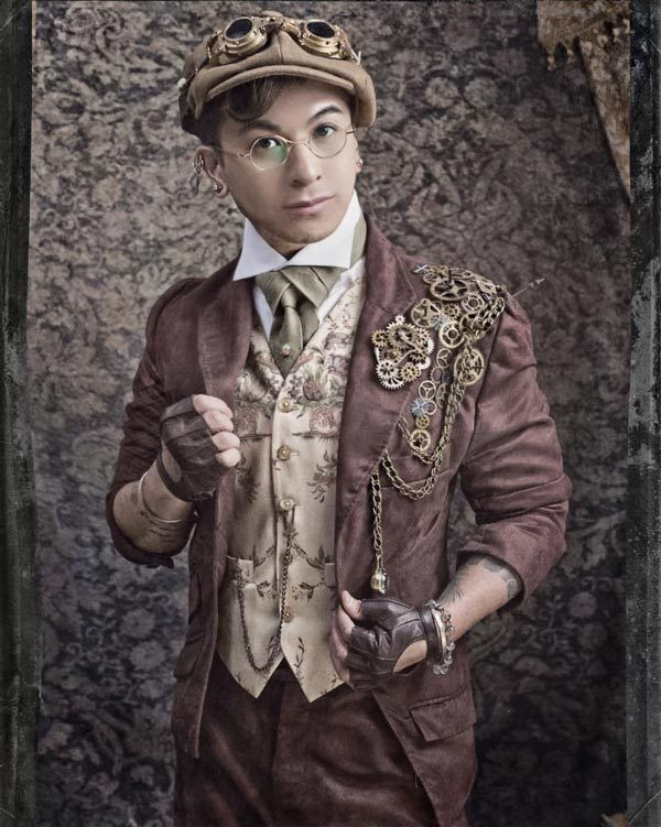 How to Be a Steampunk Dandy: Alston Stephanus