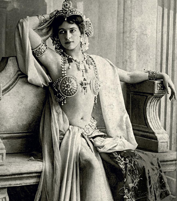 Undercover Spies: Burlesque During Wartime - Mata Hari