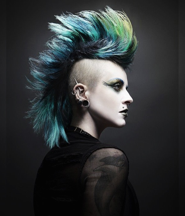 Mohawk Inspo - Seven Alternative Haircuts (and how to style them)