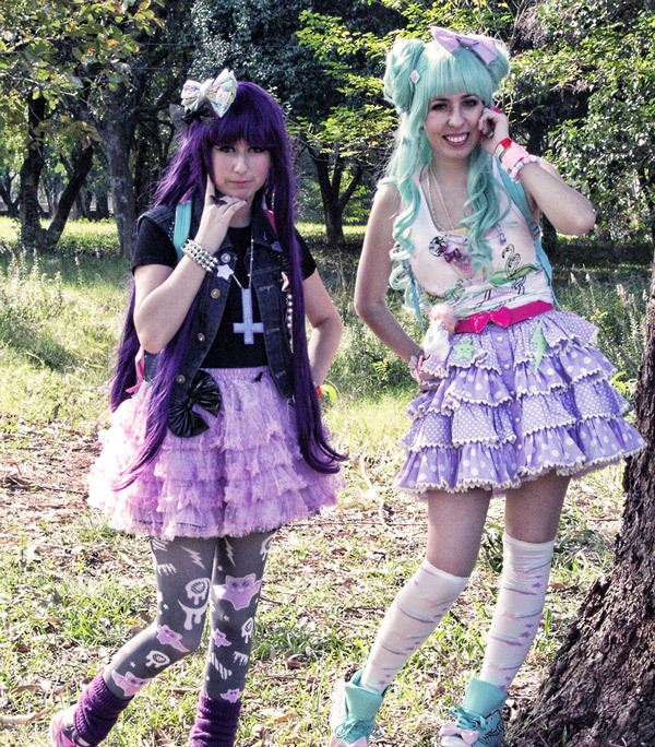 Dark and Adorable Goth Kawaii Fashion Trends: Fairy Kei