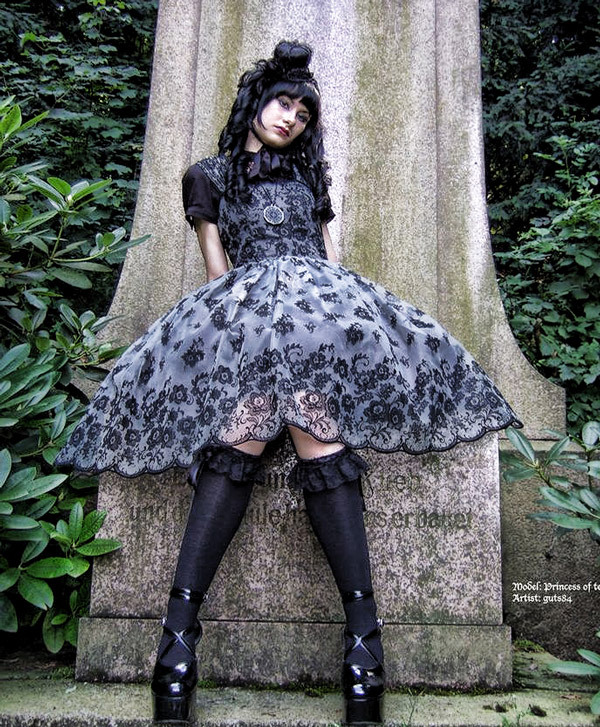 A Blend of Cute and Evil: Gothic Lolita Dress