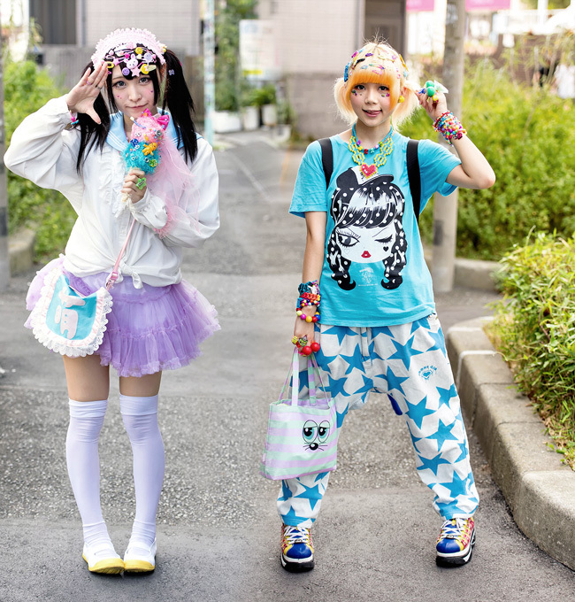 Dark and Adorable Goth Kawaii Fashion Trends: Decora Fashion