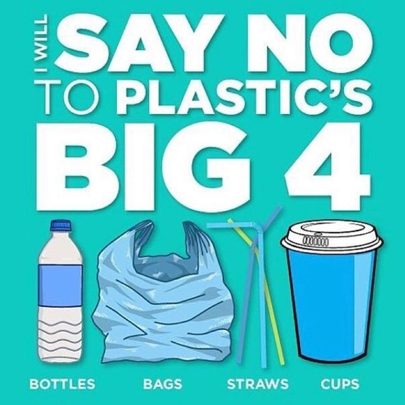 Easy Ways To Celebrate Earth Day: Give up Plastic