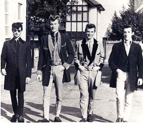 Teddy Boy Culture Through the Looking Glass