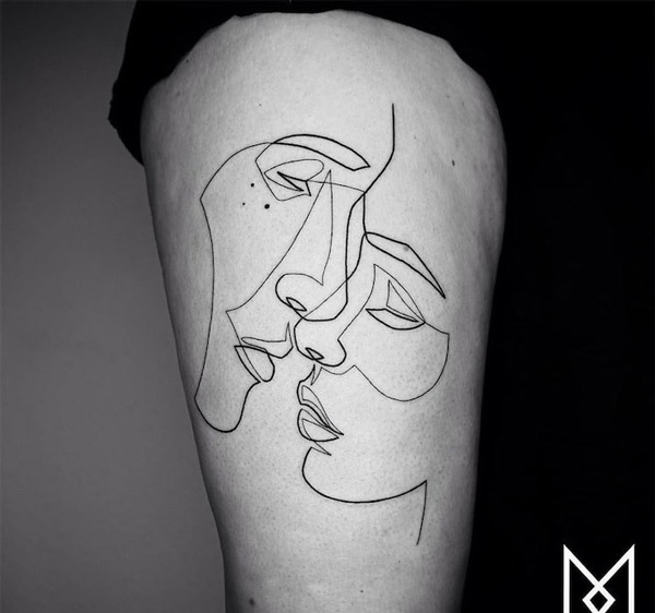 The 6 Must-See Alternative Tattoo Trends of 2018: Minimalism