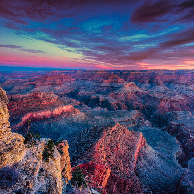 National Landmarks Where You Can Celebrate On The 4th: Grand canyon