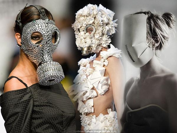 Gas Masks on modern fashion
