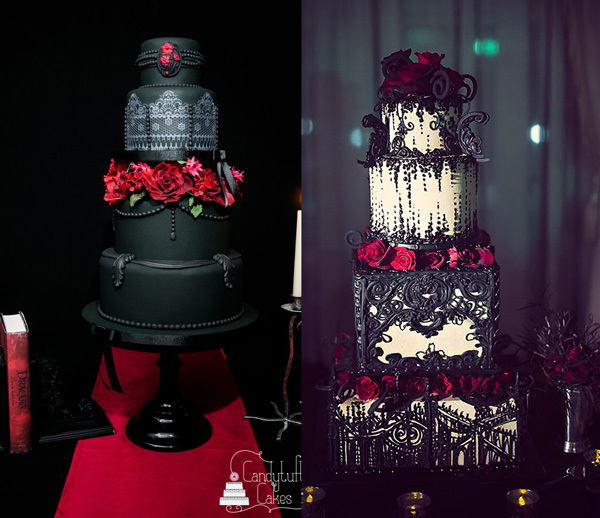 Dark and Decadent Gothic Cake Flavors