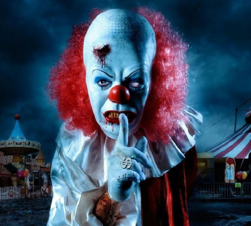 The Creepiest Clowns the World Has Ever Seen: pennywise tim curry
