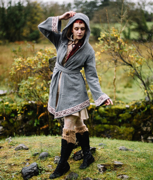 Pagan outerwear and wiccan inspired fashion