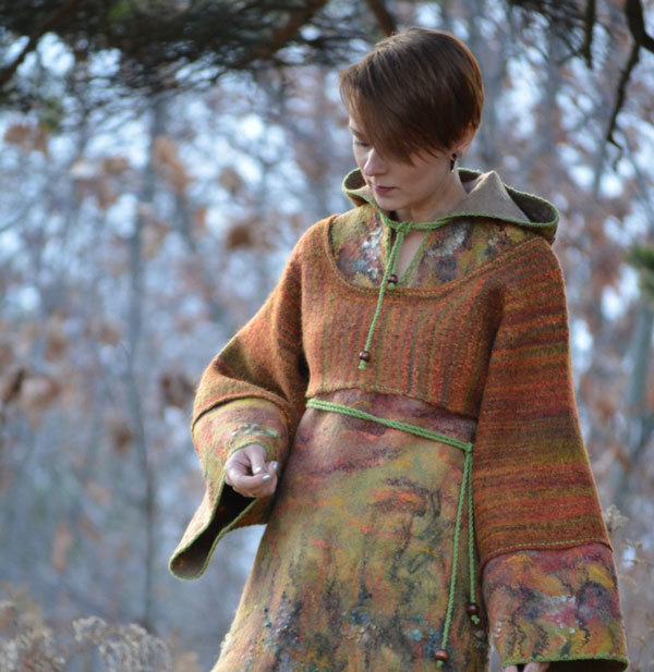 Natural Fabrics: How to Add a Pagan Touch To Your Winter Wardrobe