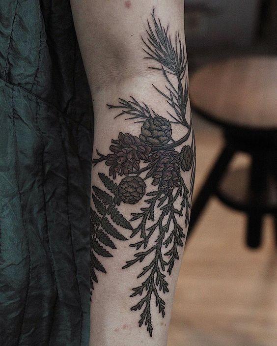 Best Yule-Themed Tattoo Ideas on Pinterest: Pagan tatoos