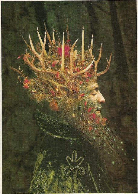 Yule art tattoo designs and ideas for pagans