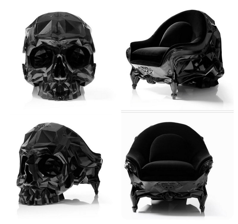 Ordinaire The Angular Skull Armchair