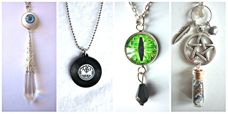 Edgy necklaces