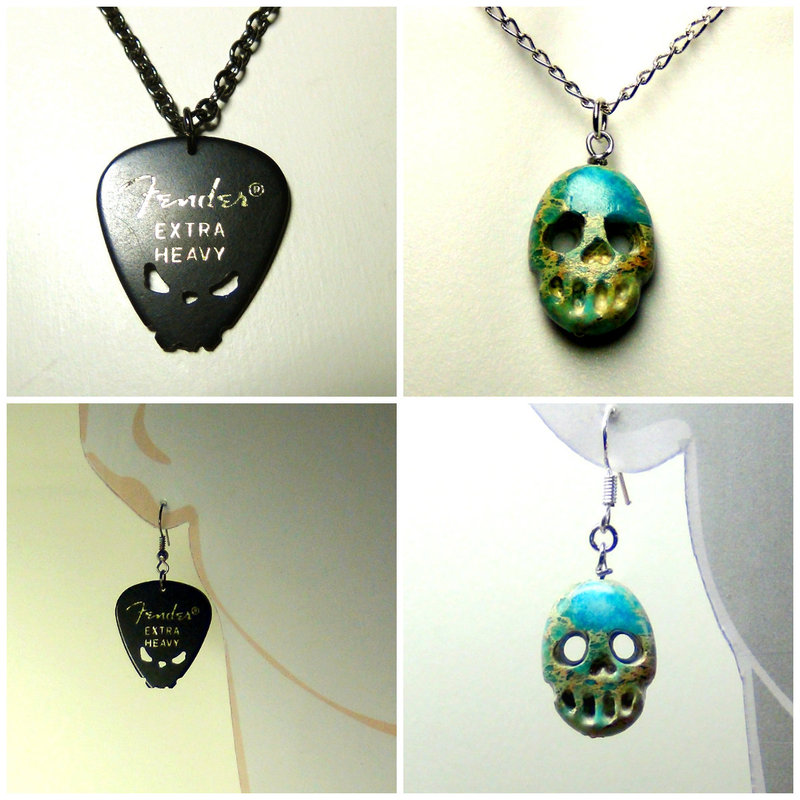 Handmade Skull jewelry