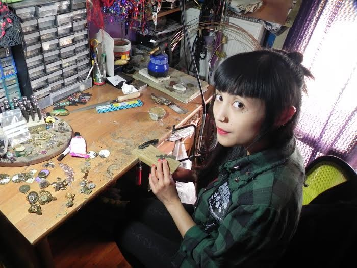 Maria handmade steampunk jewelry